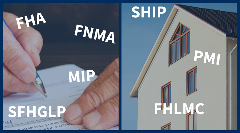 Do you know all of these mortgage acronyms?