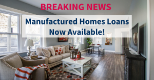 5% Down Payment Manufactured Home Loans